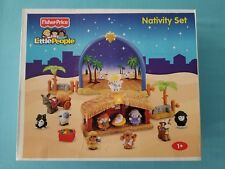 "Fisher Price   Little People   ""Nativity Set""   N6010   NIB / Sealed"