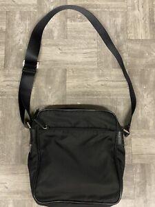 Prada Messenger Nylon Black Crossbody Bag