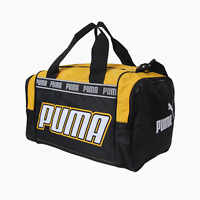Puma Astra Vintage 90s Deadstock Holdall Weekend Gym Bag BNWT New Yellow Black
