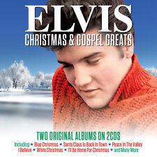 Elvis Presley - Christmas & Gospel Greats - Two Original Albums 2CD NEW/SEALED