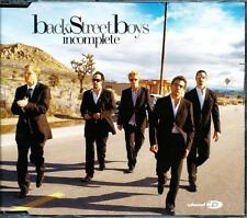 BACKSTREET BOYS INCOMPLETE 3 TRACK + VIDEO CD - NEAR MINT - LN