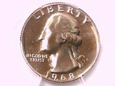 1968 S Proof Washington Quarter PCGS PR 66 36848338