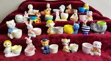 Job Lot Bundle Vintage Character Novelty Egg Cups Christmas Presents eggcup