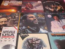 MOTOWN 9 LP SET GAYE TEMPTS SMOKEY RICHIE WONDER SUPREMES TRUTH SET + 4 CD SET