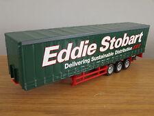 CARARAMA EDDIE STOBART CURTAINSIDE TRUCK TRAILER MODEL CR005 1:50