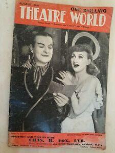 THEATRE WORLD AUGUST 1946 SWEETEST AND LOWEST AND FRIEDA