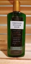 Thicker Fuller Hair with Caffeine, Cell-U-Plex Plant Extracts and Marine Flora