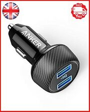 Anker PowerDrive Dual Port Car Charger With PowerIQ  24 W For 2 Elite Compact