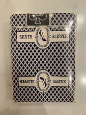 Rare Vintage Silver Slipper Casino Bee Playing Cards - Sealed, Unopened