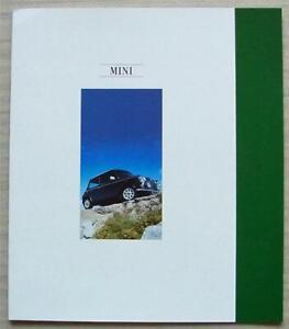 ROVER MINI SPRITE, MAYFAIR & COOPER 1.3i Car Sales Brochure 1992 #4344