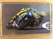 Moto GP Valentino Rossi VR46 ~ Movistar Yamaha 2017 ~ Fridge Magnet / Mini Frame