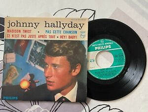 "Johnny HALLYDAY "" Vinyl "" MADISON TWIST ...45 Tours"