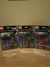 Mega Construx Pro Builders HALO Mark 1/ Breached Exosuit/ Sky Fire Exosuits
