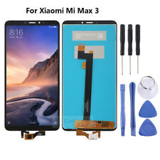 Black NEW For Xiaomi Mi Max 3 LCD Display Touch Screen Digitizer Assembly Tools