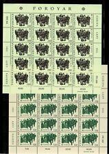 FAROER   michel  KLEINBOGENSATZ  63/64**   postfris     catw.   20,00