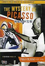 The Mystery of Picasso DVD Pablo Picasso Henri-Georges Clouzot French 1956 NEW