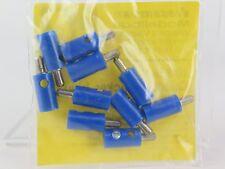 6874 VIESSMANN - SPINOTTO blu 10U Plugs Blu, 10 pieces