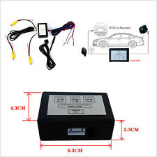 Car SUV 12V Front Rear Parking Camera View Video Controller Box Converter Switch