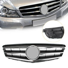 1x Front Upper Grill Bumper Grille For For Mercedes Benz C-Class W204 08-14 cl