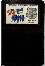 Patrolman's Benevolent Assn. Family Member Mini Wallet with 1991 Court PBA Card