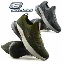 Mens New Skechers Air Memory Foam Running Walking Sports Gym Trainers Shoes Size
