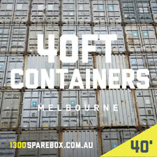 40FT 8'6 General purpose shipping container | USED - Melbourne