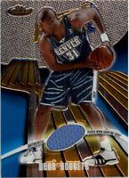 2003-04 Finest Denver Nuggets Basketball Card #110 Nene Jersey /999