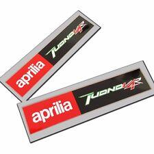 Aprilia Racing style TUONO V4R  Motorcycle graphics stickers rectangle  x  2 PCS