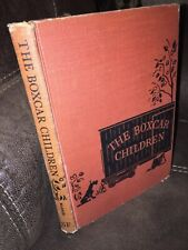 "Vintage ""The BoxCar Children"" Book By Gertrude Chandler 1950 Hardcover"