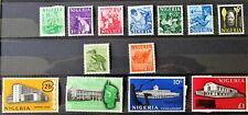 More details for u1 - nigeria 1961 comp. set of 13 superb mint never hinged on s/c