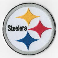 Pittsburgh Steelers Iron on Patches Embroidered Badge Patch Applique Emblem FN