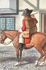 John Berry original Ladybird People at Work The Postman picture No 2 equestrian