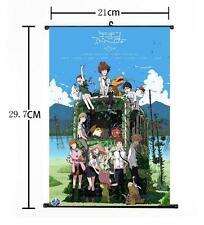 "Hot Japan Anime Digimon Adventure Home Decor Poster Wall Scroll 8""x12"" 02"
