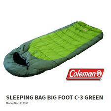 COLEMAN BIG FOOT -3Cel. JUMBO HOODED SLEEPING BAG FLEECE LINING