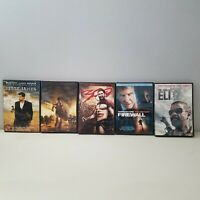 Lot of 5 DVD Movies 300, Troy, Book of Eli, Firewall, Jesse James