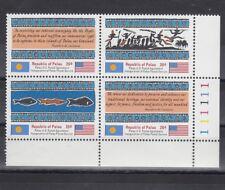 TIMBRE STAMP  4 PALAU  Y&T#1-4 ART POISSON  NEUF**/MNH-MINT 1983 ~B57