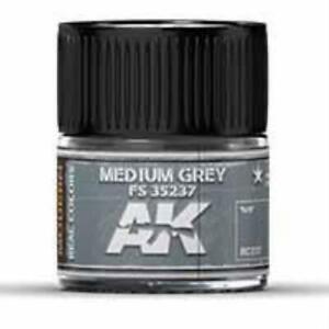 AK Interactive RC237 Real Colors Acrylic Lacquer Medium Grey FS 35237 10ml