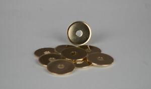 Waschmünzen,Saugmünzen,Waschanlage,Waschpark, 25,7x1,8mm,1000 Stück,Messing,TL25
