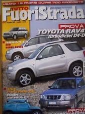 Tutto Fuoristrada n°10 2001 Toyota RAV 4 - Concept Jeep Willys 2   [P42]