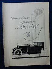 PUBBLICITA' EDITORIALE - ADVERTISEMENT - BALLOT - ANNI '20