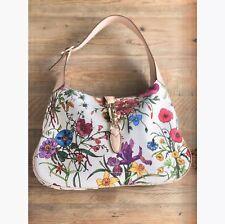Gucci Flora Jackie O Hobo Handbag $1980