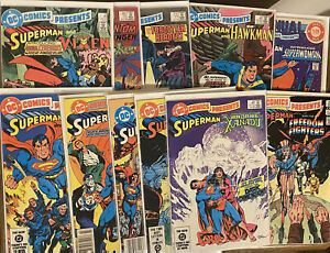DC COMICS PRESENTS  -LOT Of 11 Issues #61-77  Free Shipping! 🔥 🔑