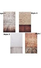 Photography Background Studio Photo Props Thin Backdrop 3*5FT Wood Grain Brick