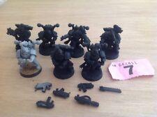 Warhammer 40k Chaos Space Marine Squad Chosen Marines