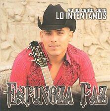 Espinoza Paz Lo Intentamos CD New Nuevo Sealed