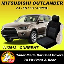 Car Seat Covers MITSUBISHI OUTLANDER Front & Rear 11/2012 - Current Airbag Safe!