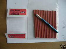 TRU POINT TECHNICAL ERASERS AND HOLDER,DRAFTING, ARTIST made in the USA