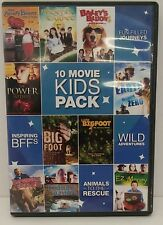 10 Movie Kids Pack (DVD, 2011, 2-Disc Set) In Very Good Pre-owned Condition