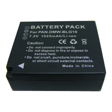 Battery For Panasonic DMW-BLG10E DMC- TZ100 LX100 GX7 GF6 TZ80 TZ81 GX80 85