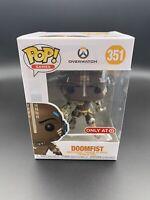 Funko Pop! Overwatch: DOOMFIST Target Exclusive In Hand +Protector
